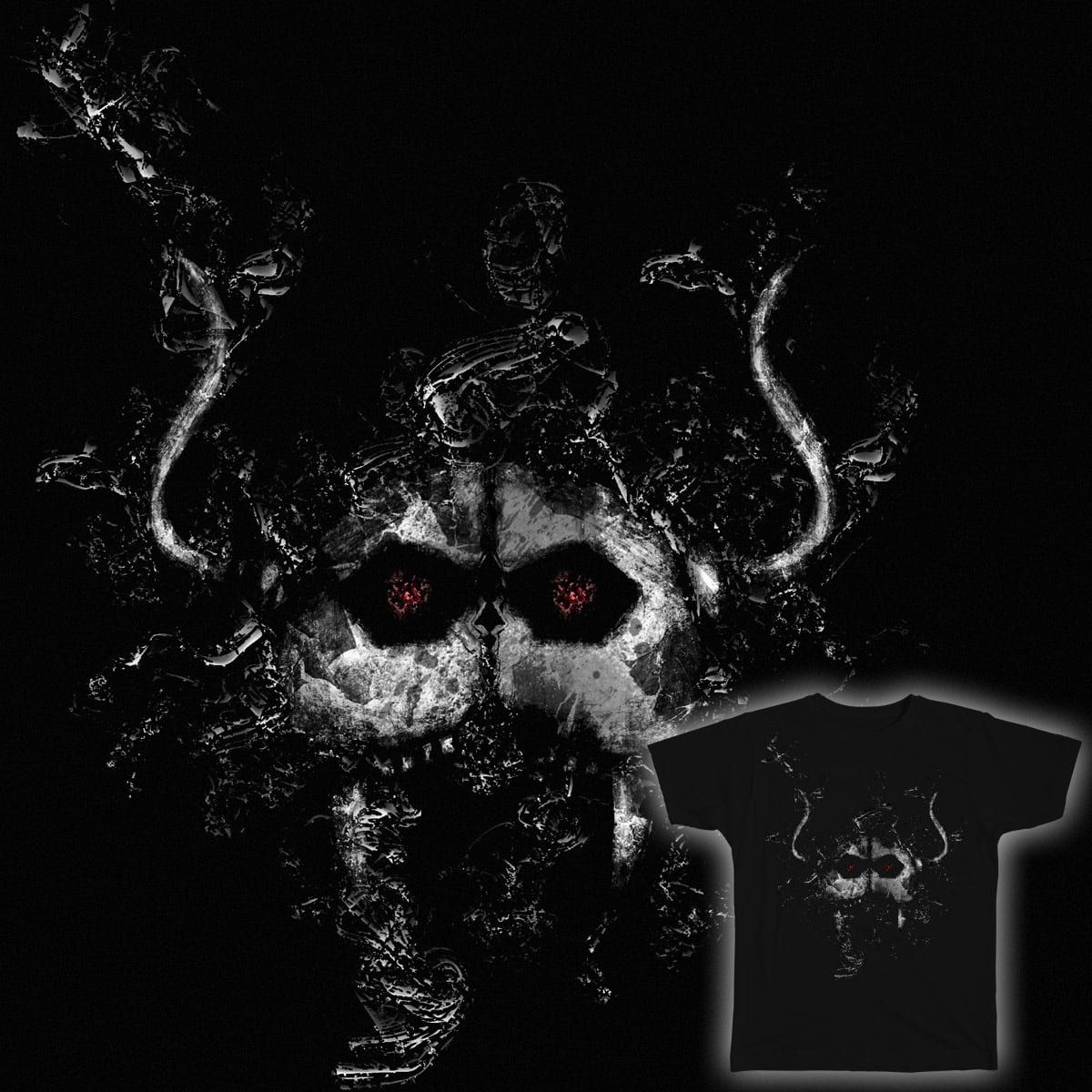 monster grunge by asifasghar1234 on Threadless