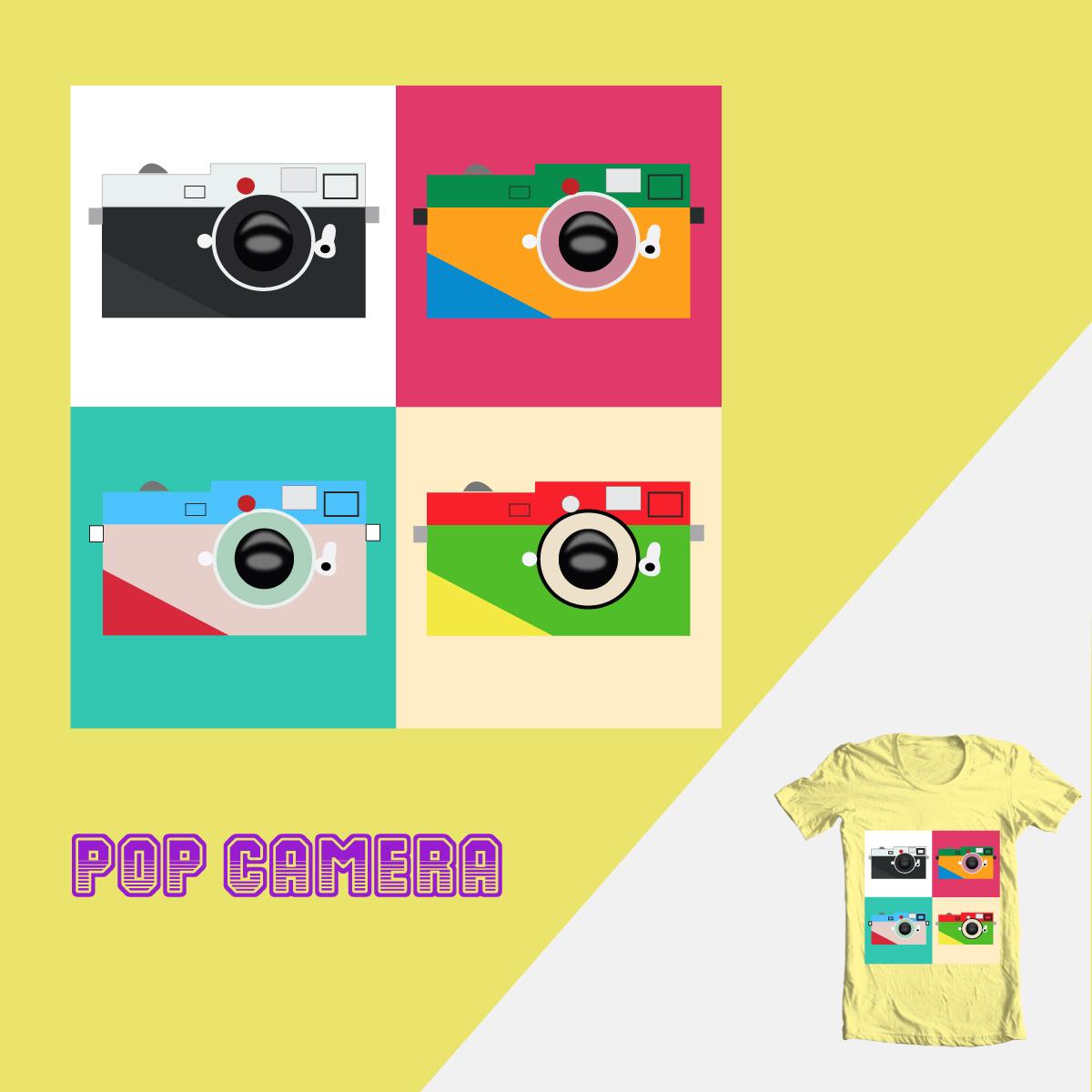 Pop Camera by Ivan Molina  on Threadless
