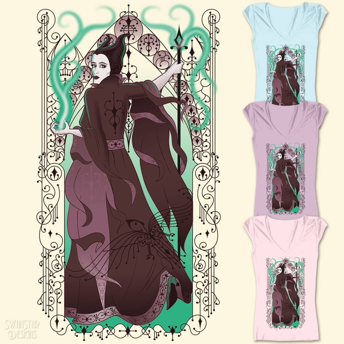 Mistress of All Evil by SwanStarDesigns on Threadless