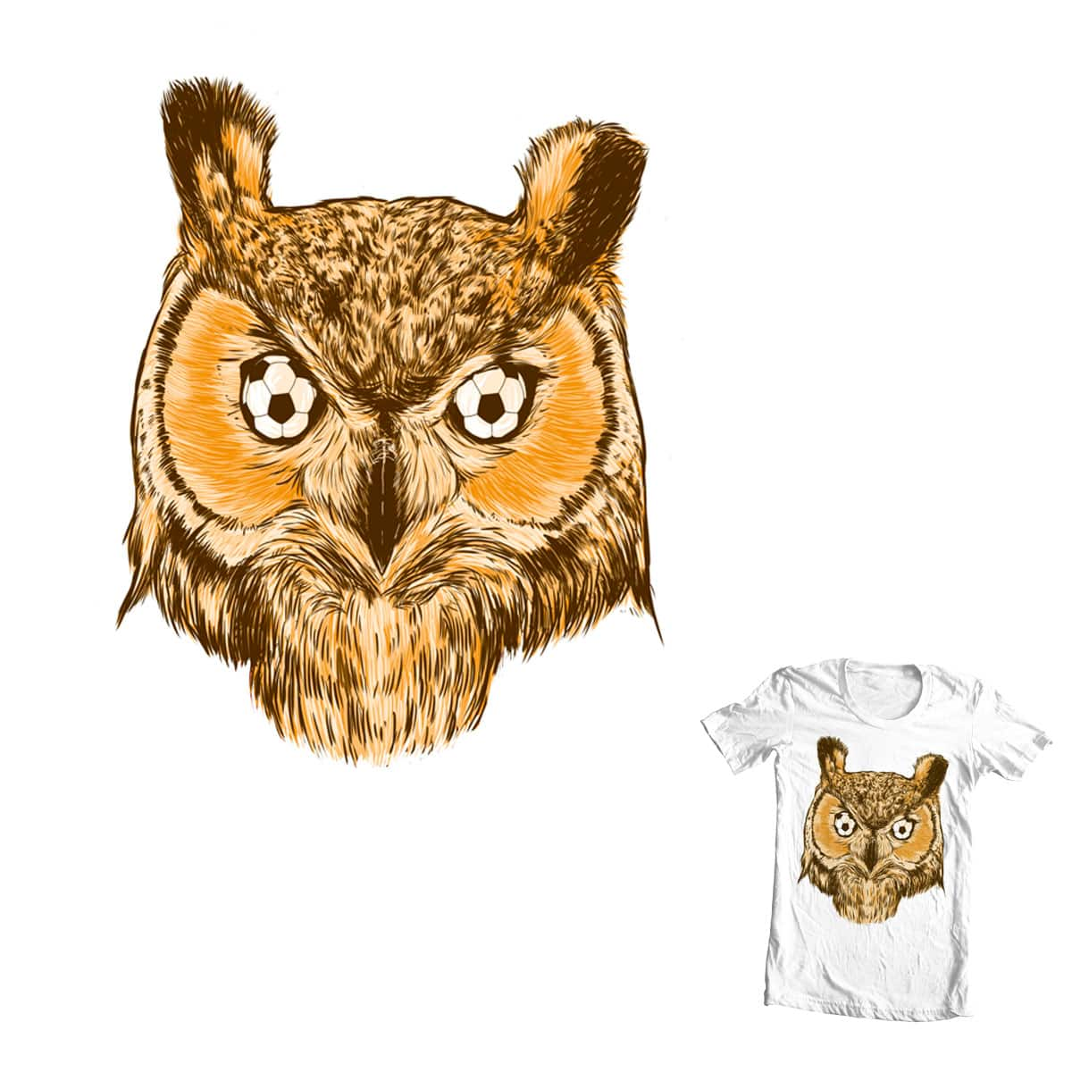 Owl by hadee on Threadless