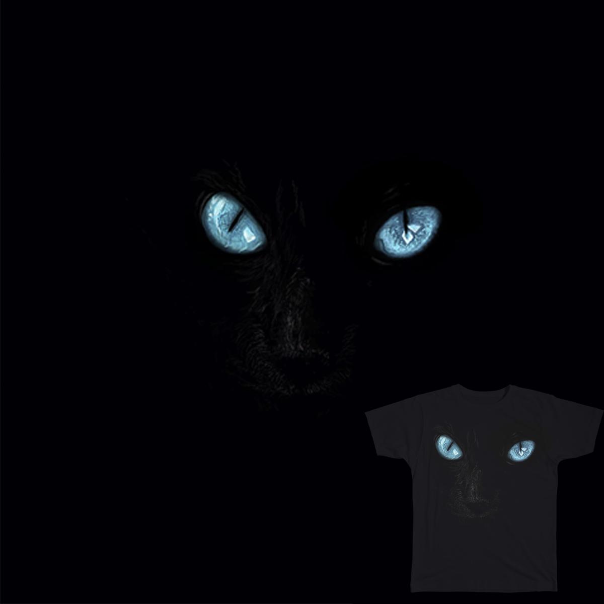 Eyes in the dark by Aimee_Monk on Threadless