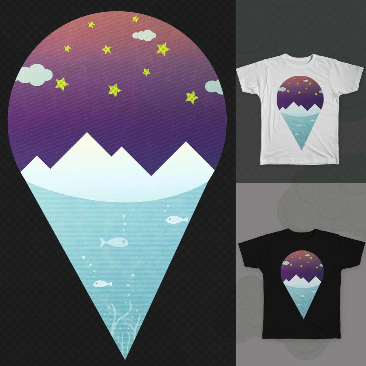 Natural ice cream by Tan Arice on Threadless