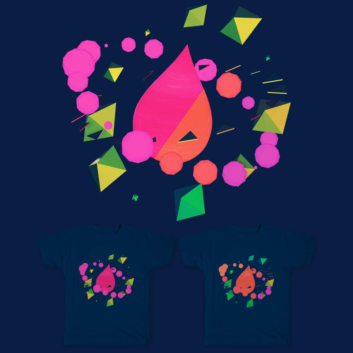 Tear Drop Planet by p0th3ad on Threadless