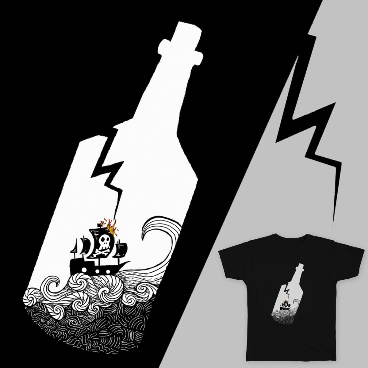There's a Storm A-Brewin' by KSheheen on Threadless