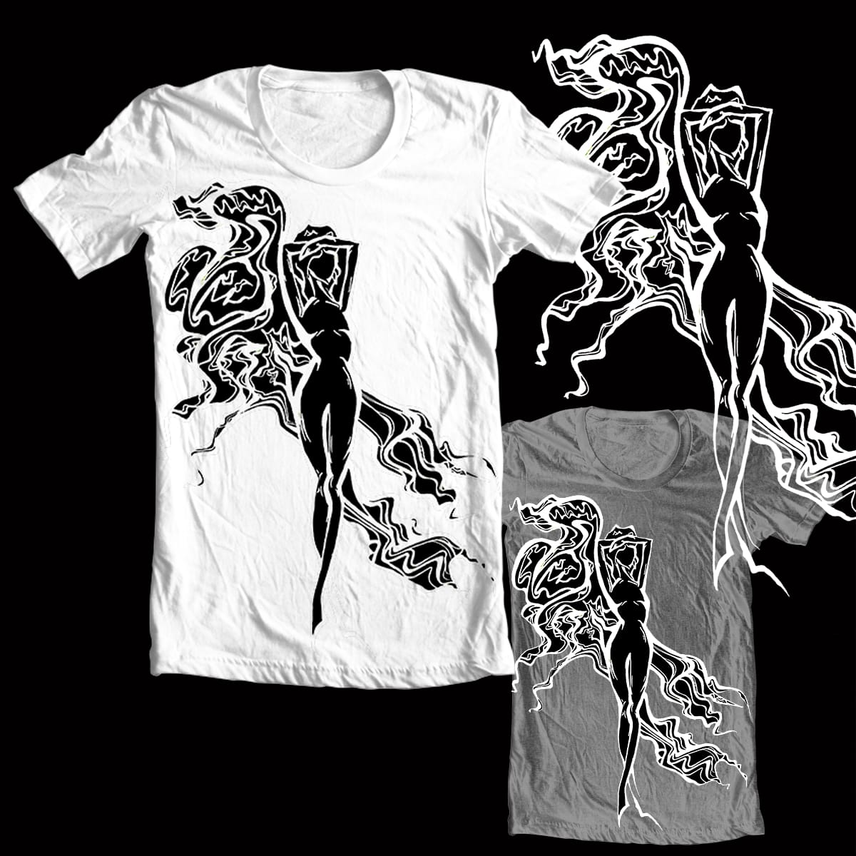 Body Contours by YISectually on Threadless