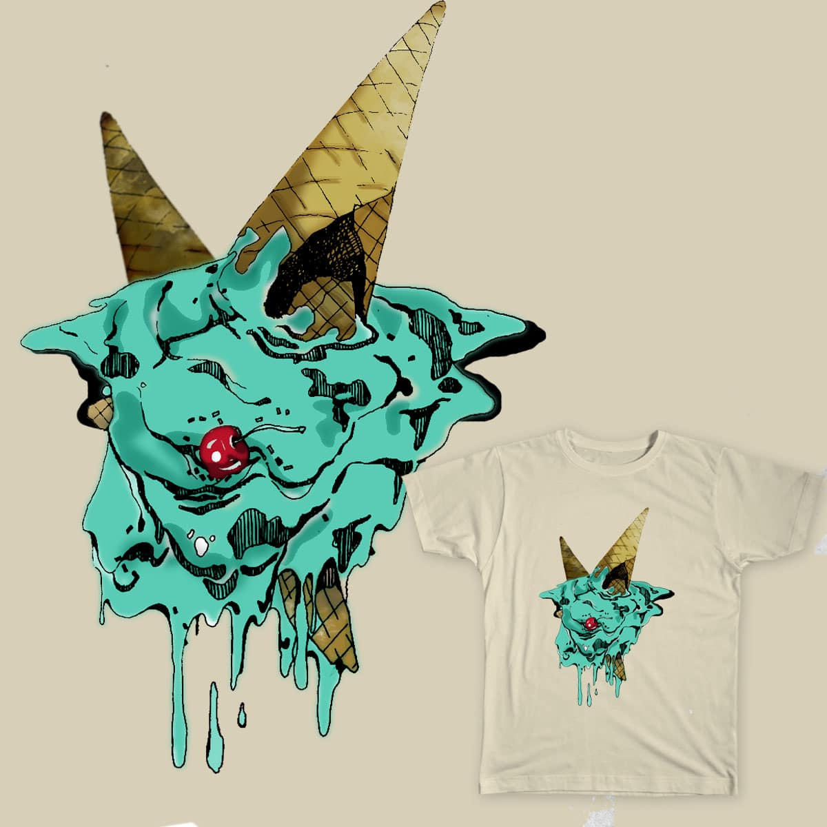sweet or sin by decun.devin on Threadless