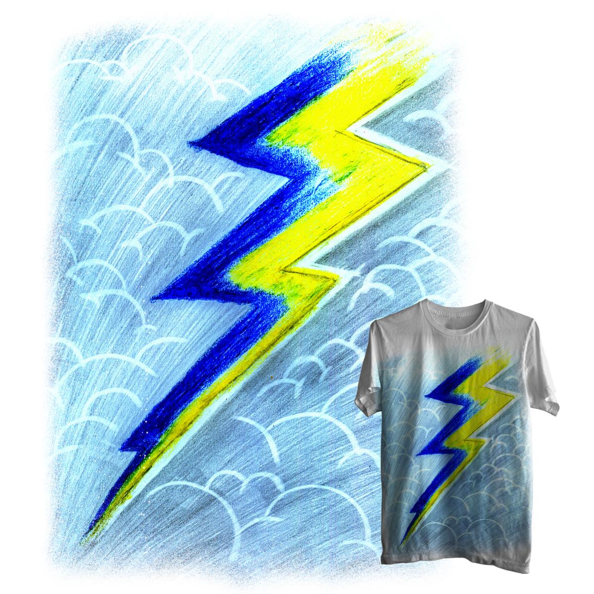 Thunder by ndough on Threadless