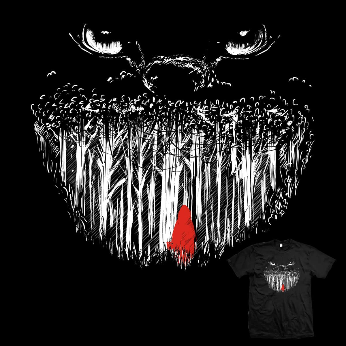 grin forest by mainial on Threadless