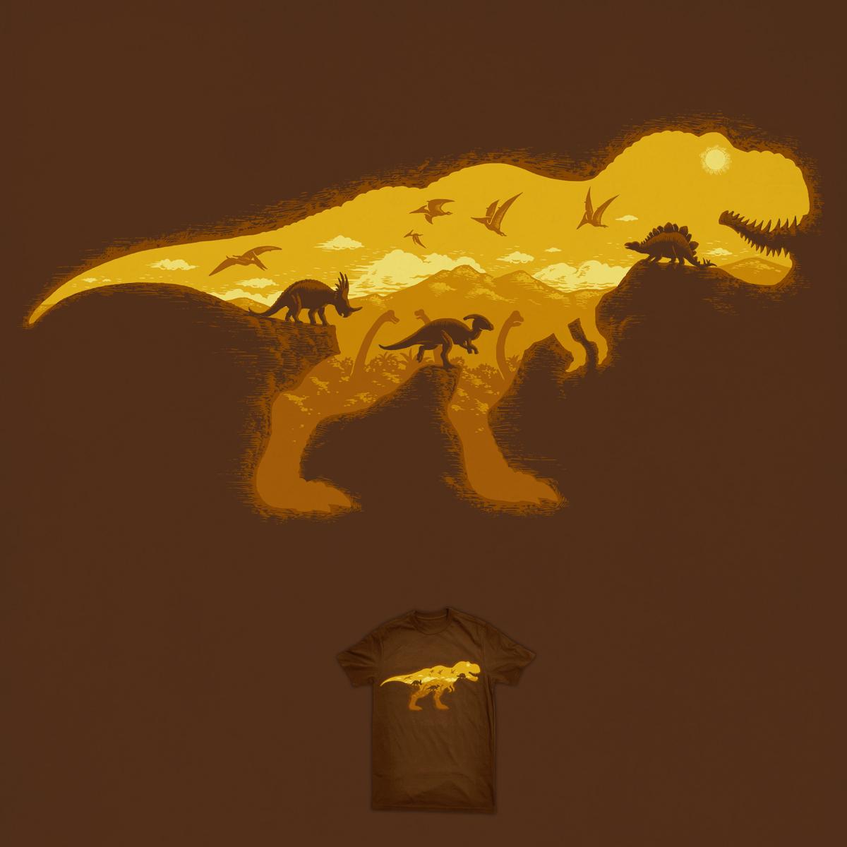 Dinosaur World by ben chen on Threadless
