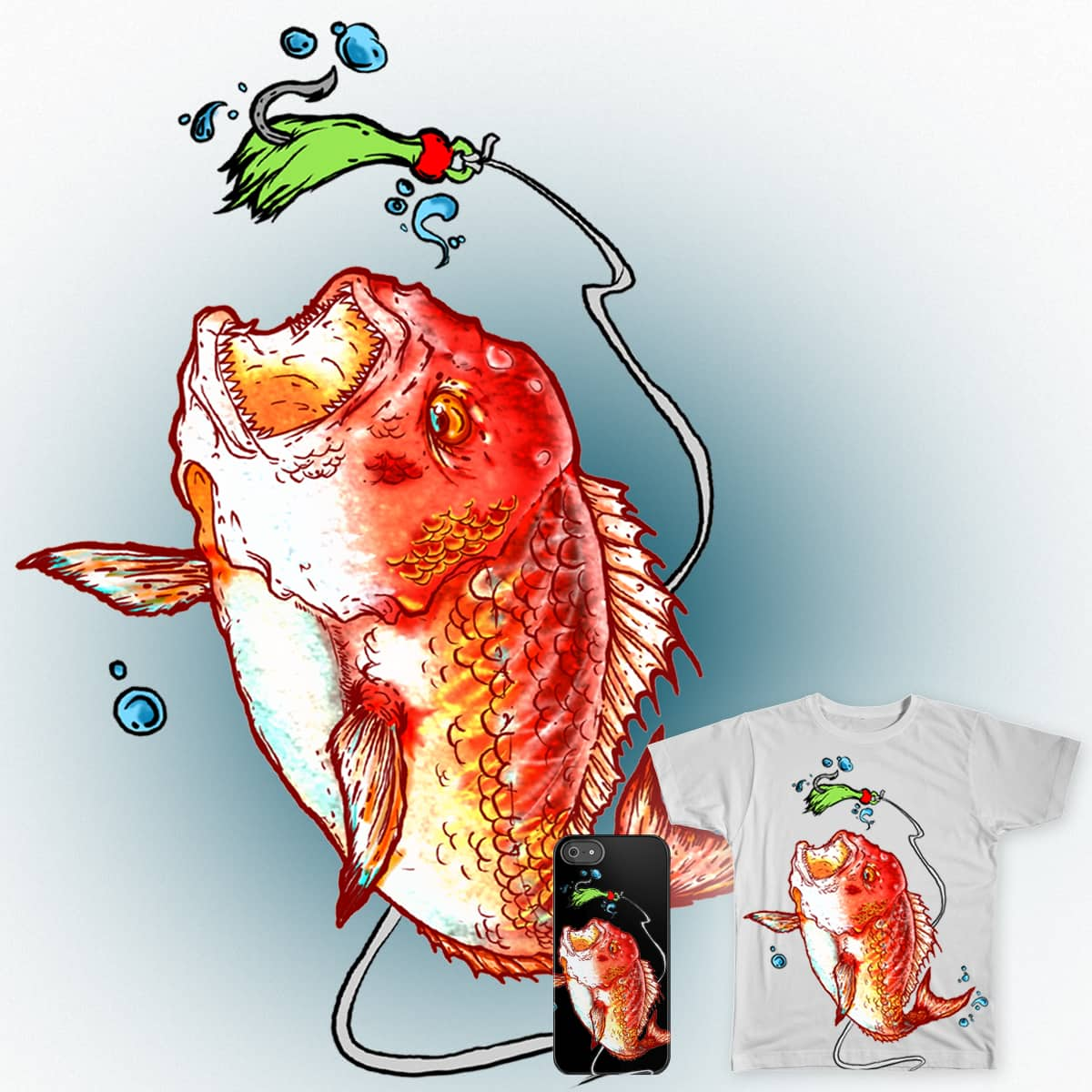 BAIT by guiven on Threadless