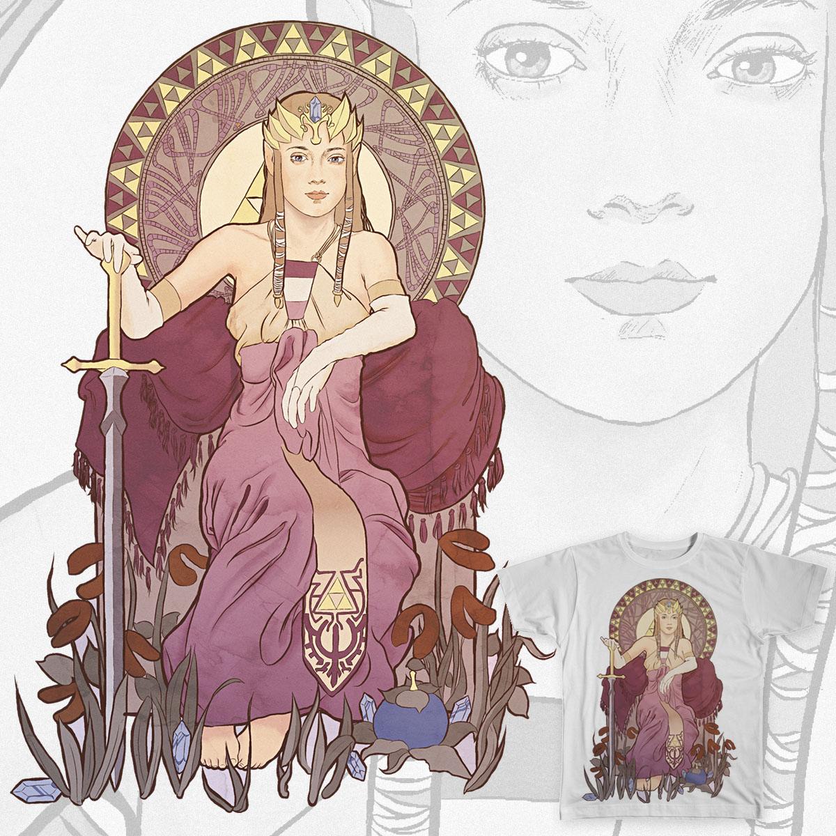 Nouveau Princess by sunnless on Threadless