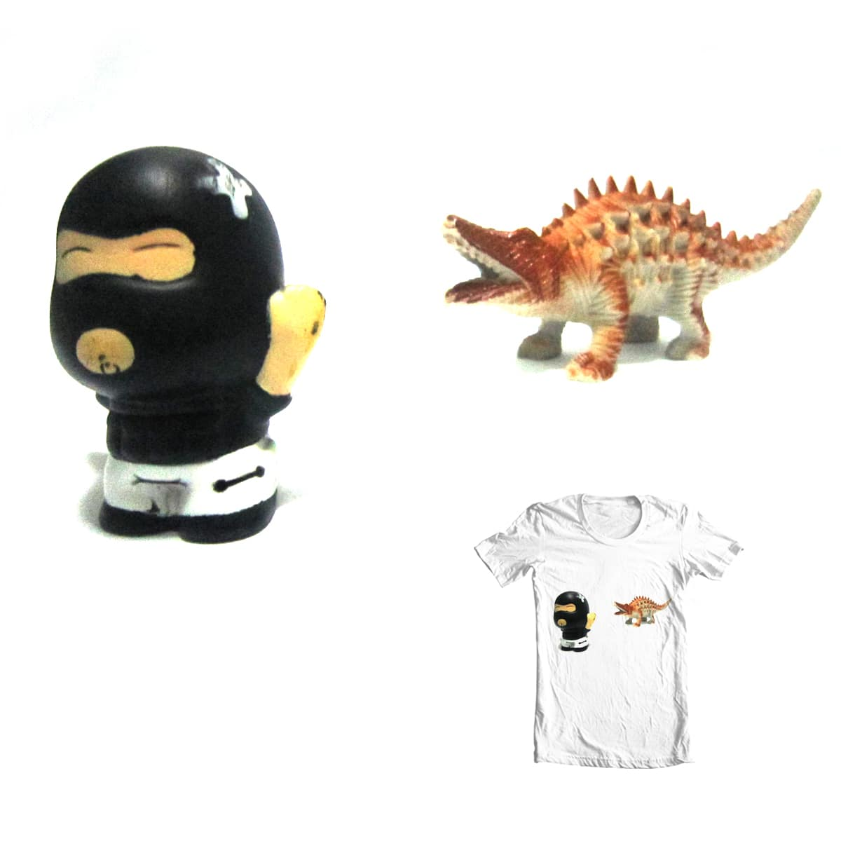 Baby Ninja in Trouble by papaomaangas on Threadless