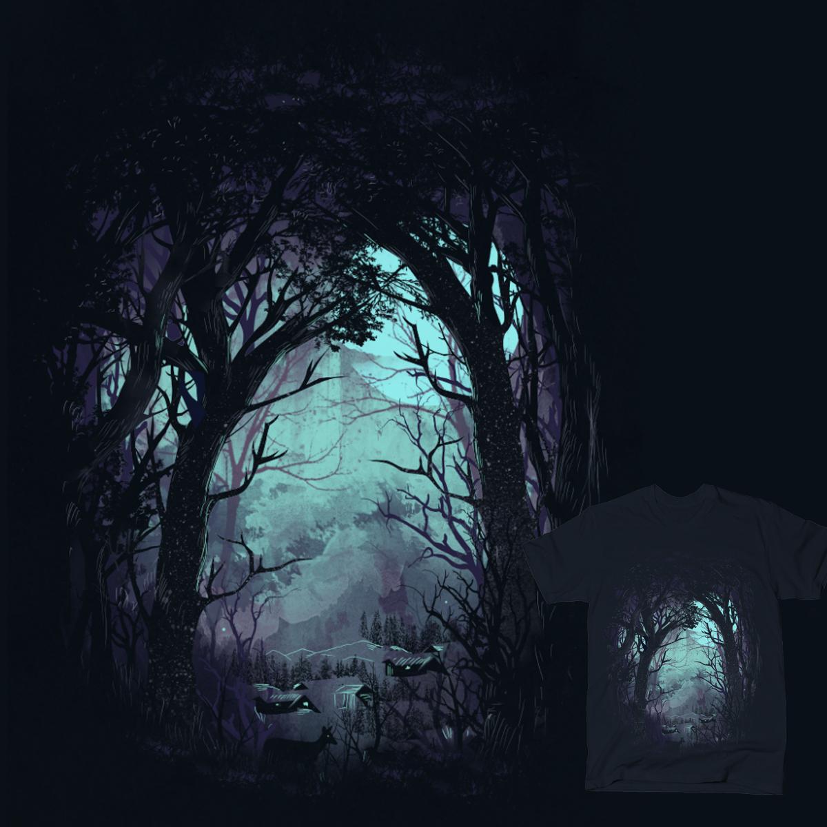 The Hiding Place by dandingeroz on Threadless