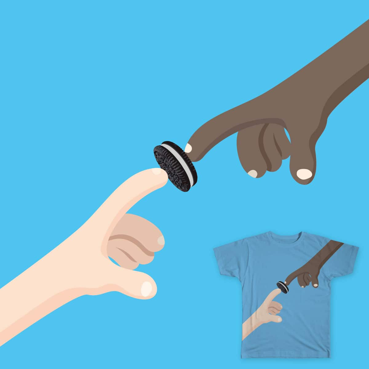 Creation of a cookie  by Anas.Alhakim on Threadless
