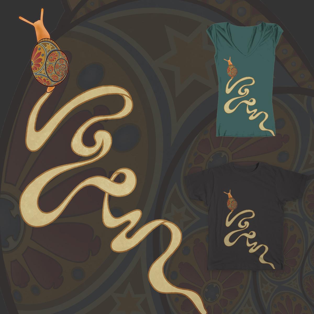 Escargot Nouveau by allywanders on Threadless