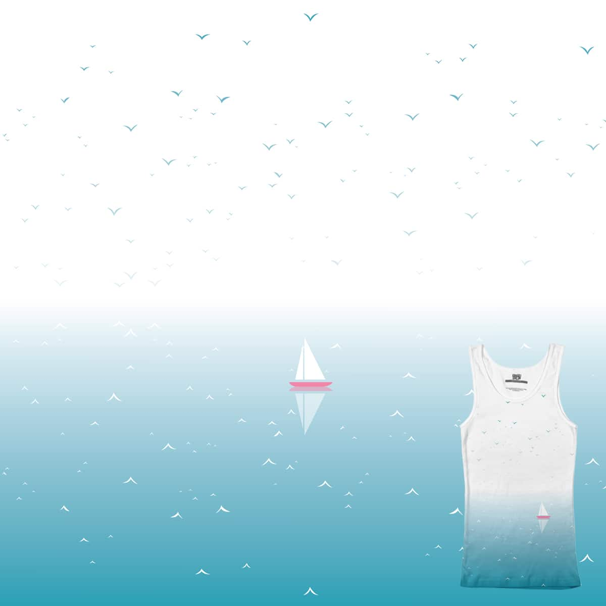 sea / sky by mdim on Threadless
