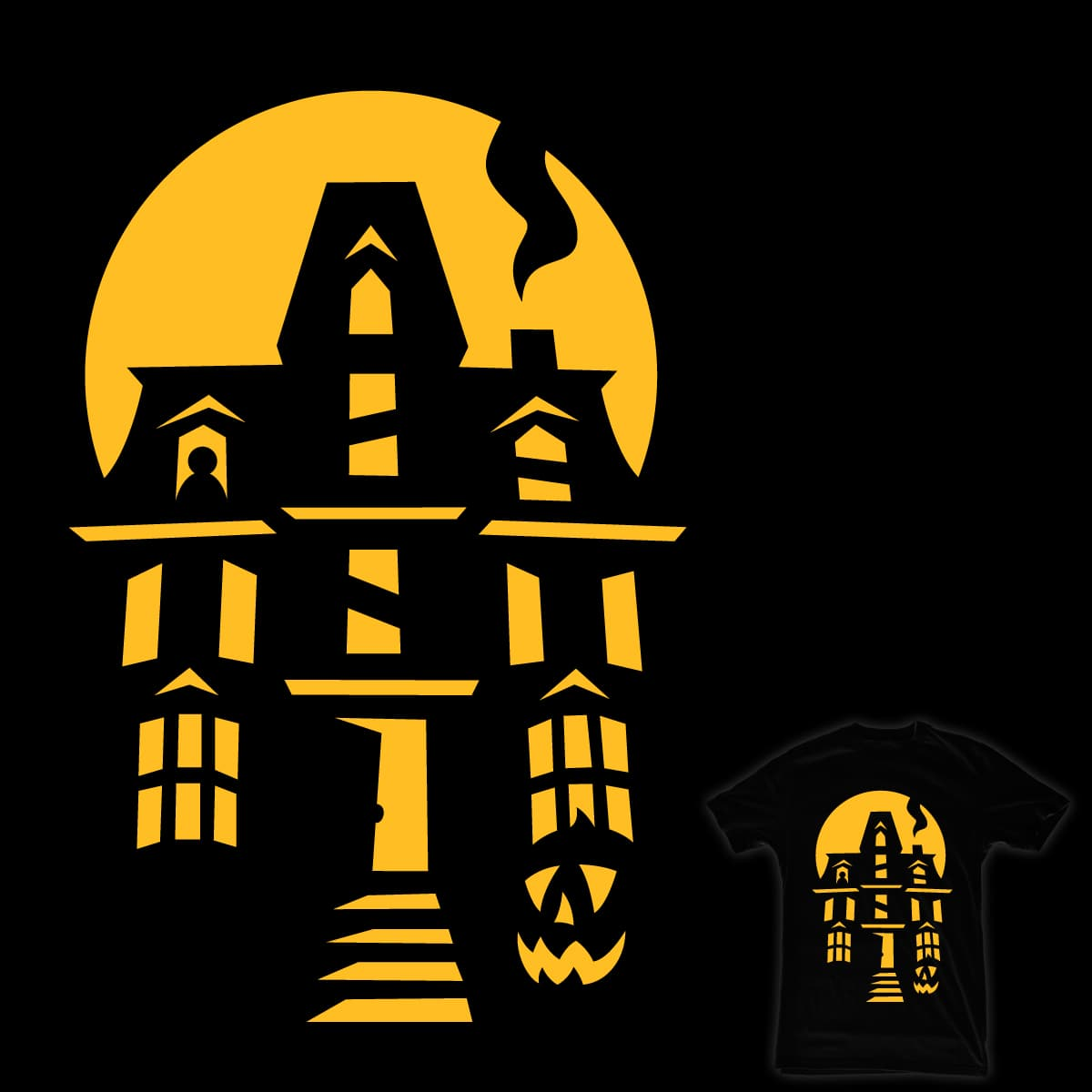 Totally Not Haunted by Maegnus on Threadless