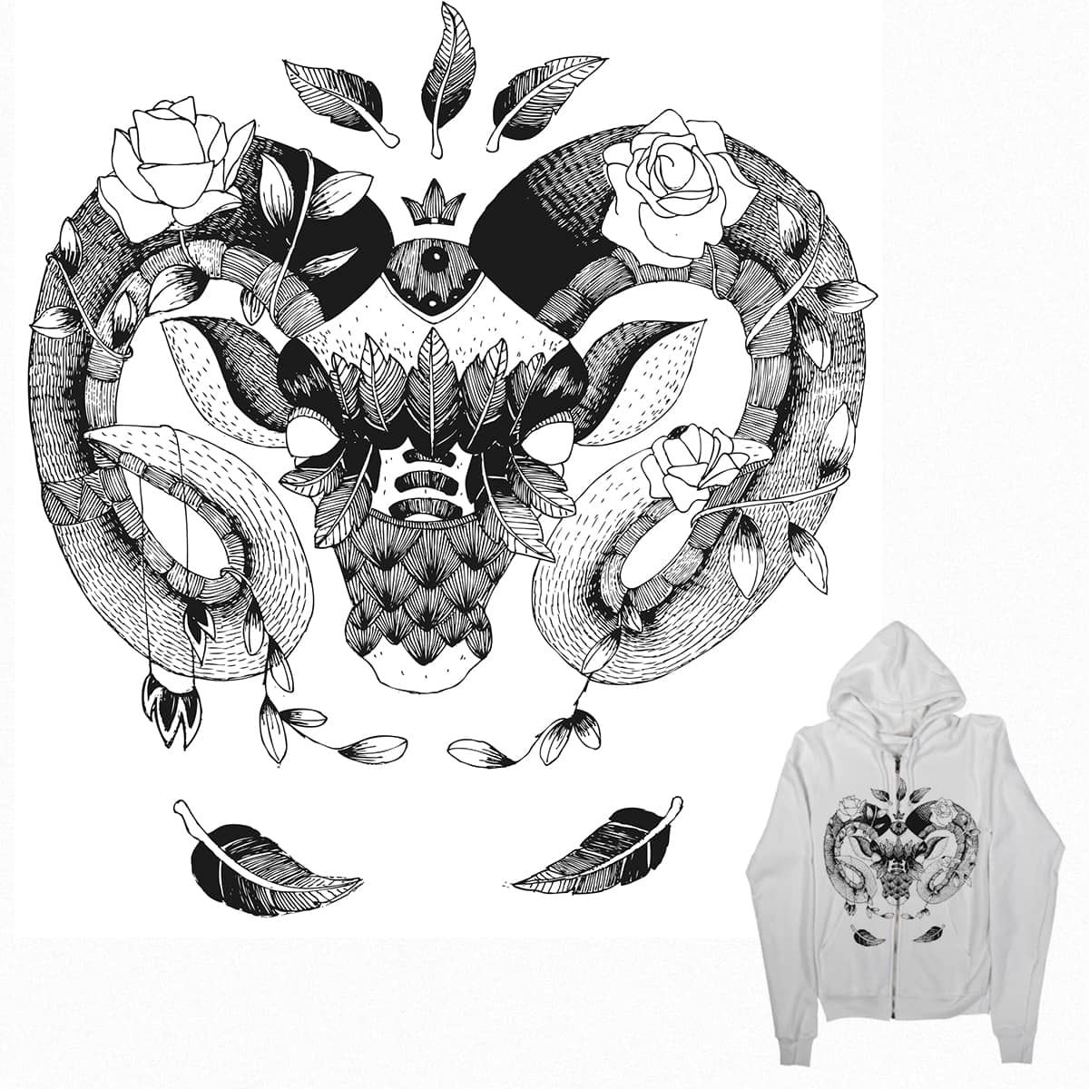 Strong animal by Ingas on Threadless