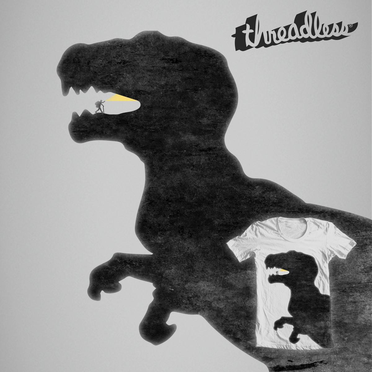 T-Rex Cave by Daniela Dix on Threadless