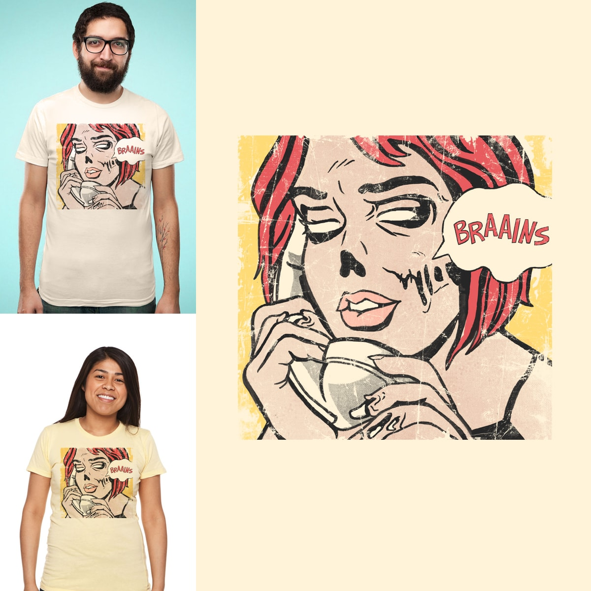 BRAAINS by GloopZ on Threadless