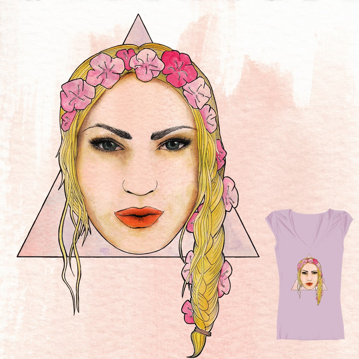Gypsy Nouveau by angelsallfire on Threadless