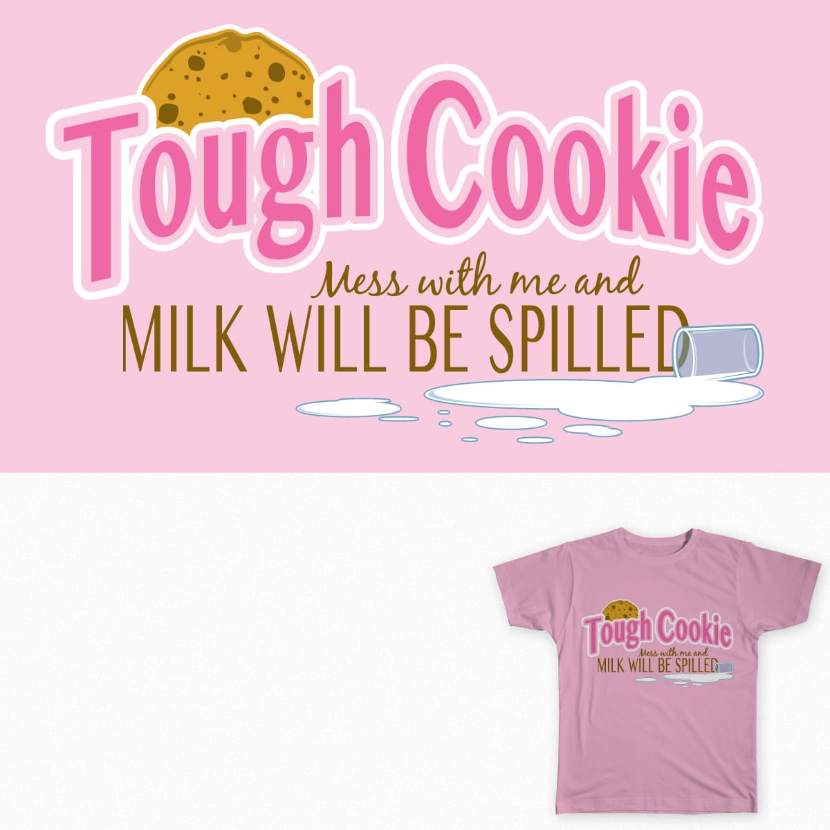 Tough Cookie by samsonleague on Threadless