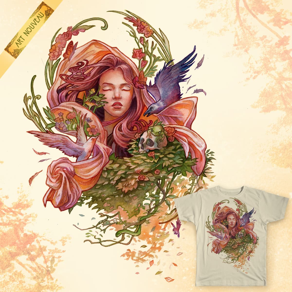Dual Thoughts by Seyer21 on Threadless