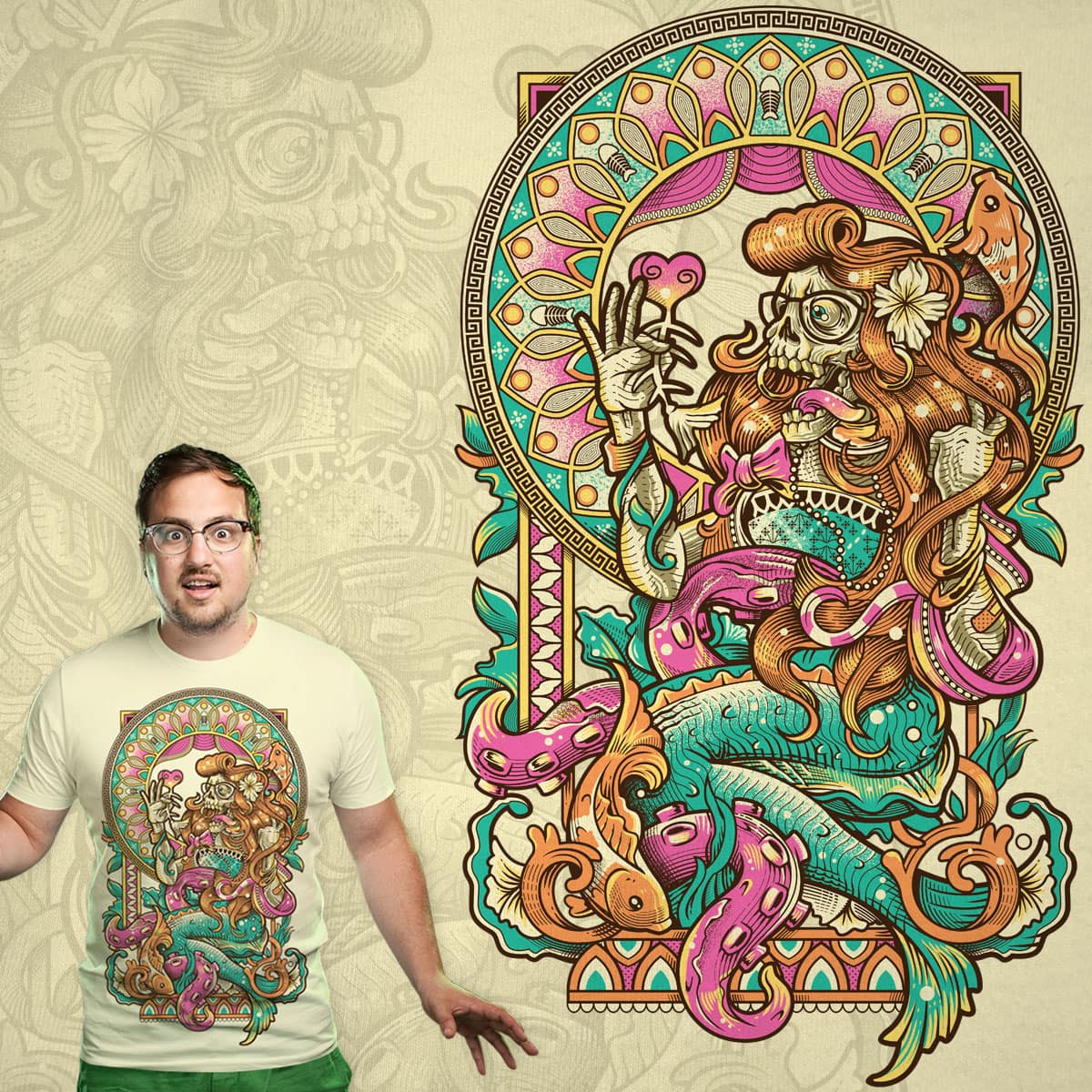 MerMadness by bogielicious on Threadless