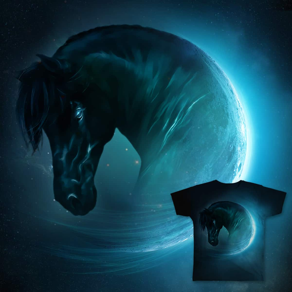 The Lucky Horse by LeoRico_26 on Threadless