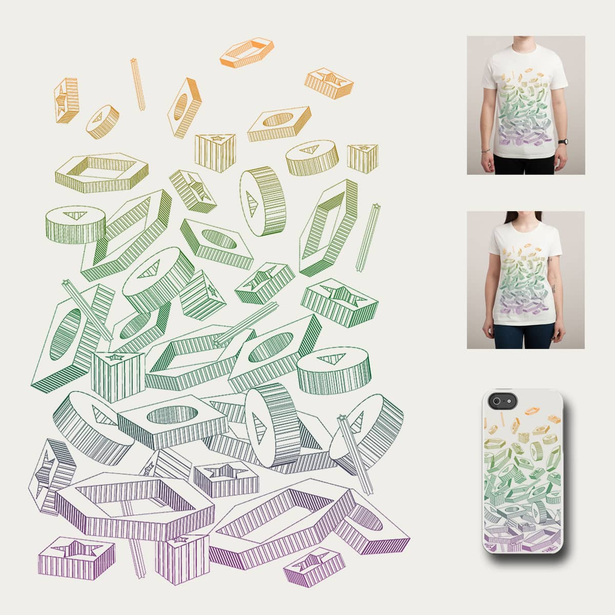 Muddled Mind by Leo Canham on Threadless