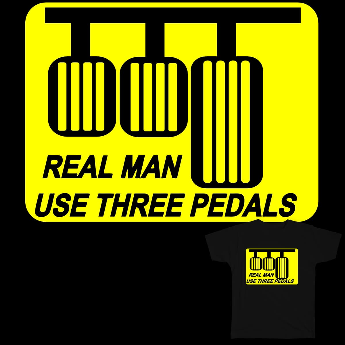 real man by fabhakim on Threadless