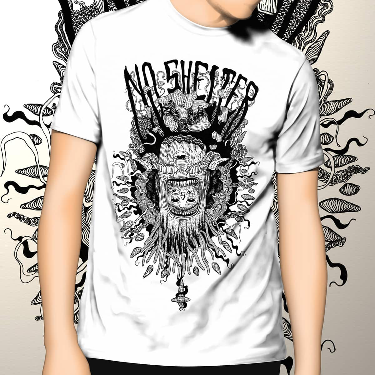 NO SHELTER by felipevazdesign on Threadless