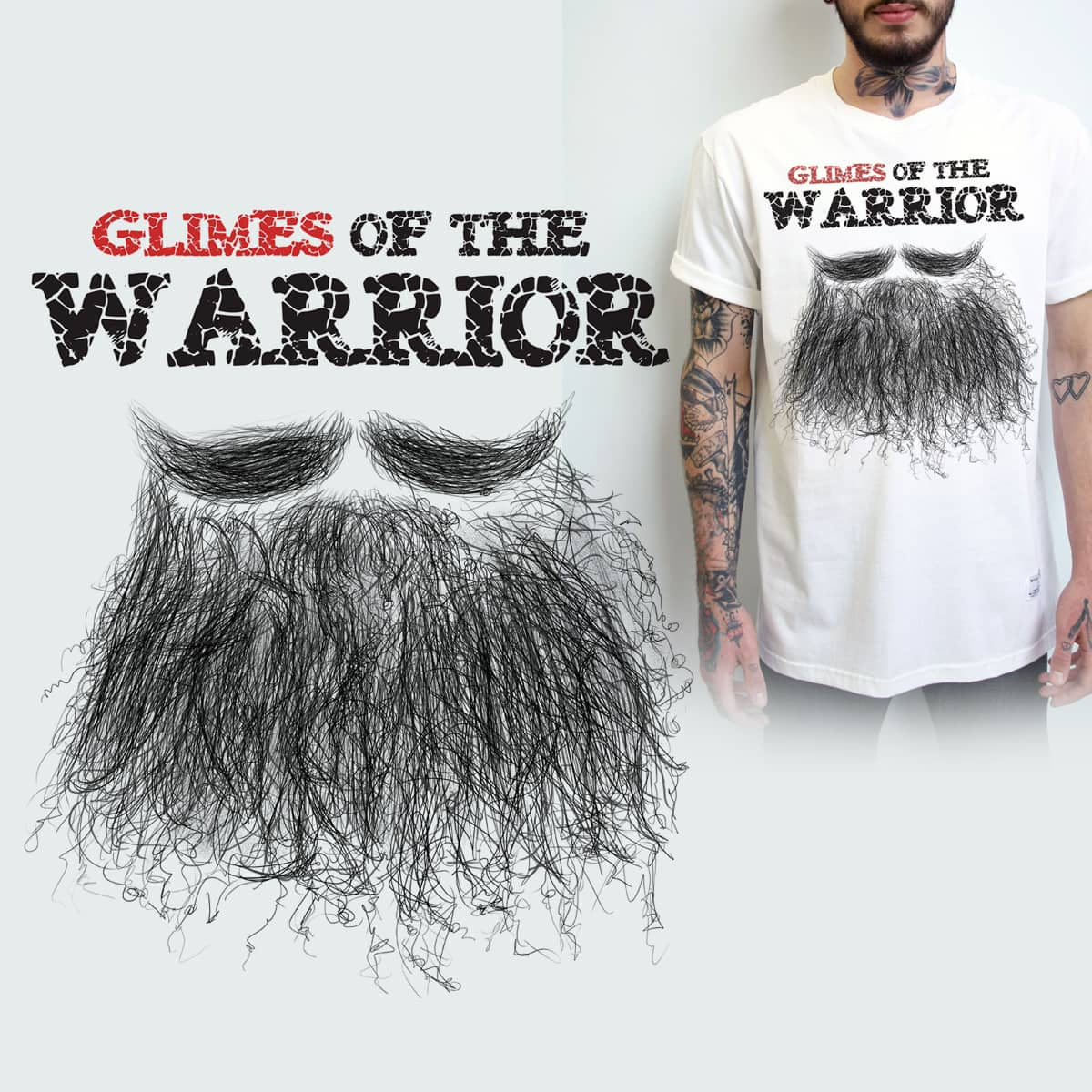 BEARD by Manpreetsingh on Threadless