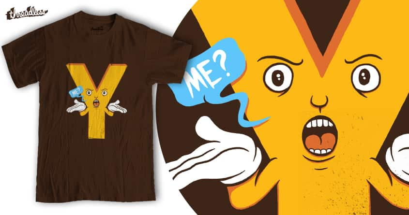 Why Me ? by Malique Ridwan on Threadless