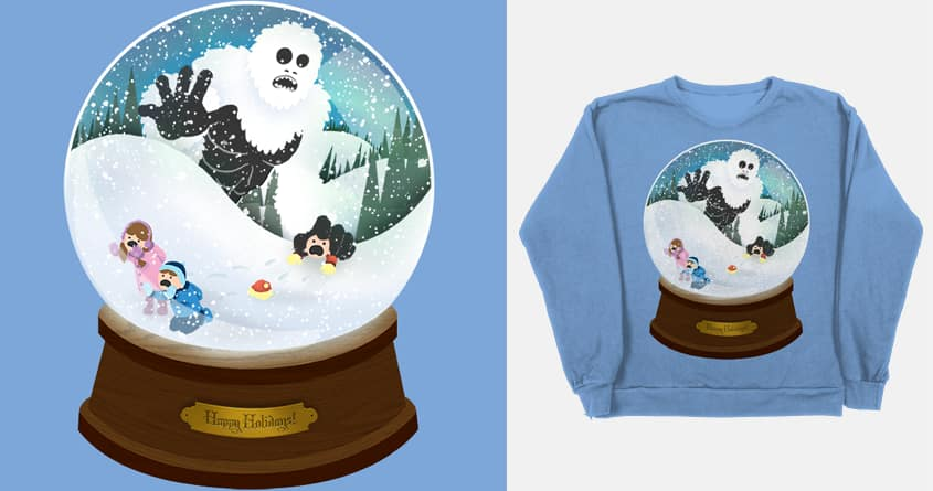 Abominable Snowglobe by Blake  B on Threadless