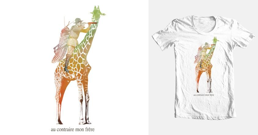 Au Contraire, Mon Frère by MokeleMbembe on Threadless