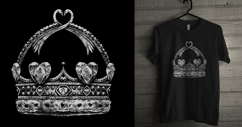 CROWN OF LOVE by Mr Rocks and arzie13 on Threadless