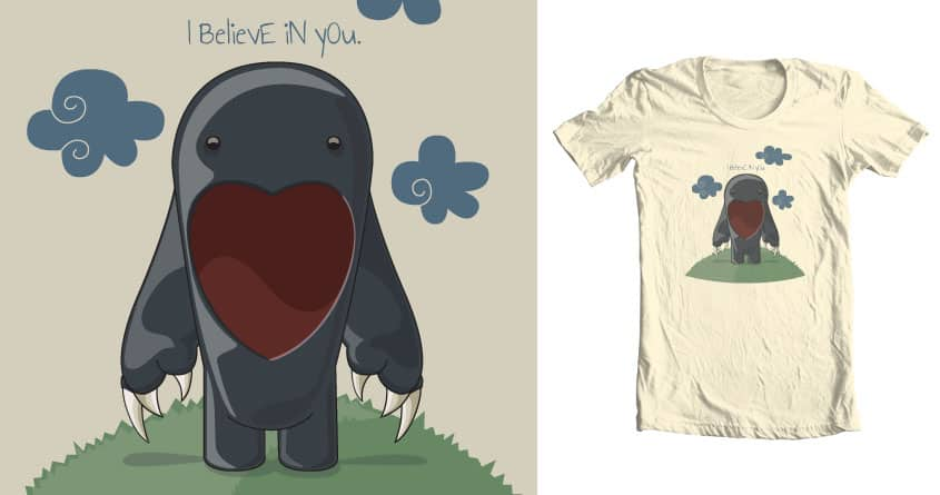 BELIEVE by PaintPenclPaper on Threadless