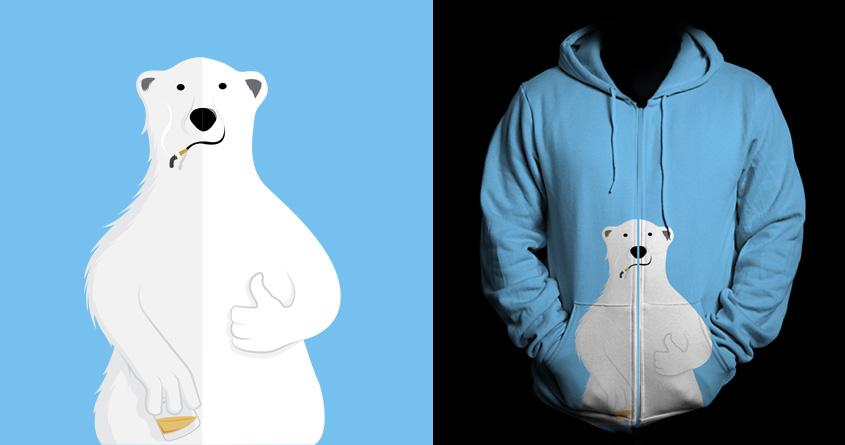 The Bi-Polar Bear by mip1980 on Threadless