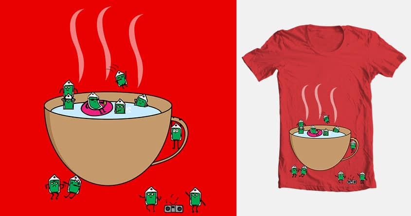 Tea Party by Meejesness on Threadless