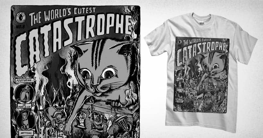 CATastrophe by Raulio and goliath72 on Threadless