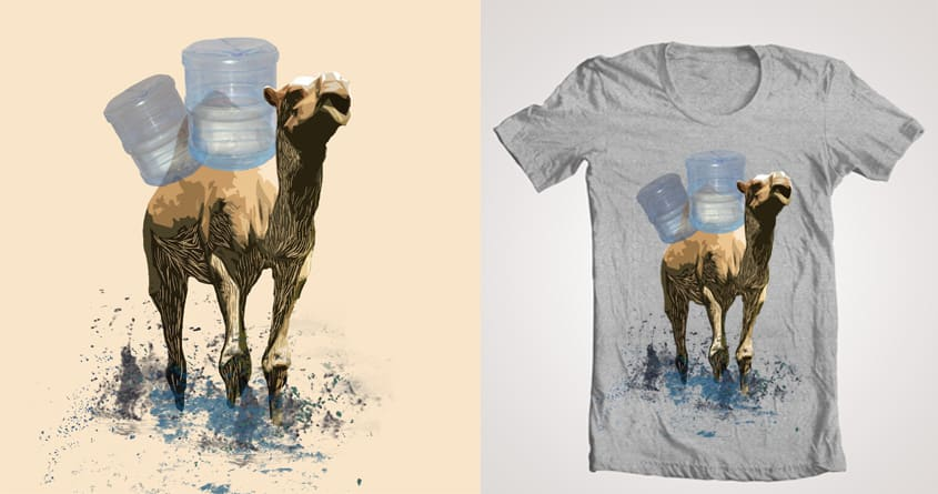 Destitute Camel  by aed405 on Threadless