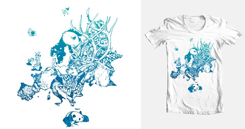 Panda's continental (season) dream....  by Joostdesign on Threadless