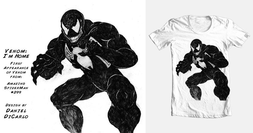 Venom: I'm Home by DManGraphiX on Threadless