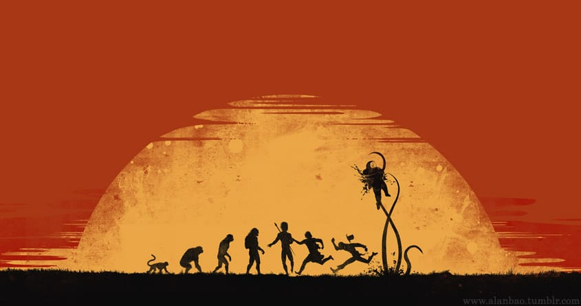 Terminus of Species by AlanBao on Threadless