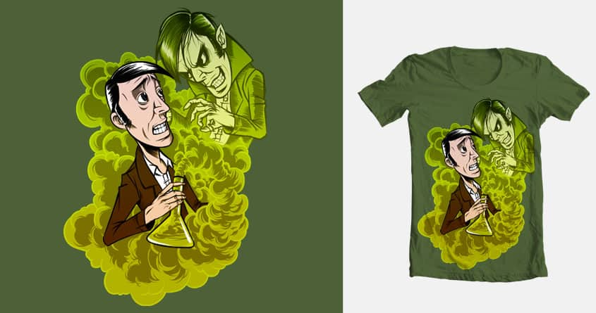 Evil in the bottle by Emzal on Threadless