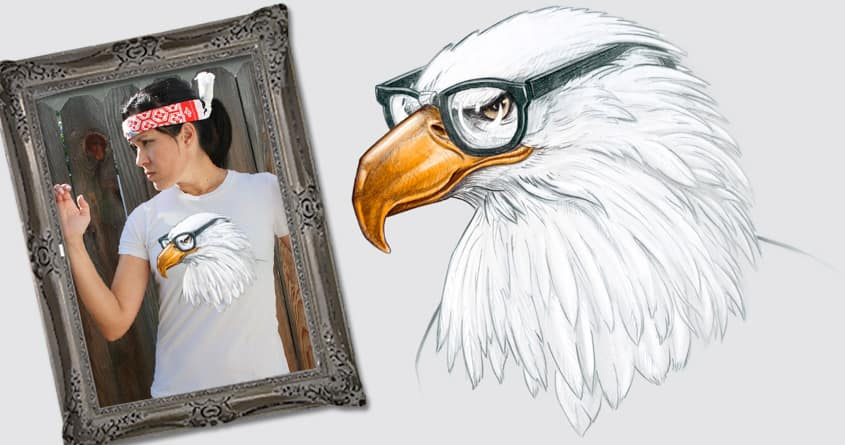 Eagle Eye by Luke... on Threadless
