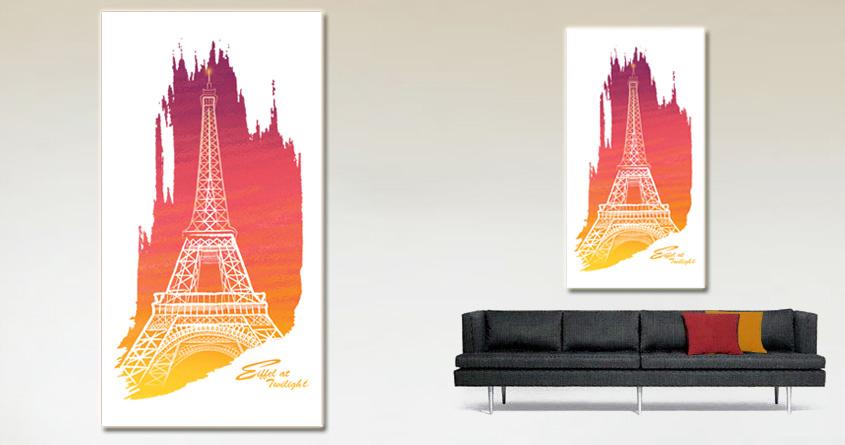 Eiffel at twilight by Elisha520 on Threadless