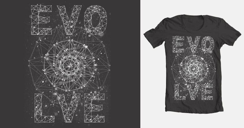 Evolve by cdcgart on Threadless