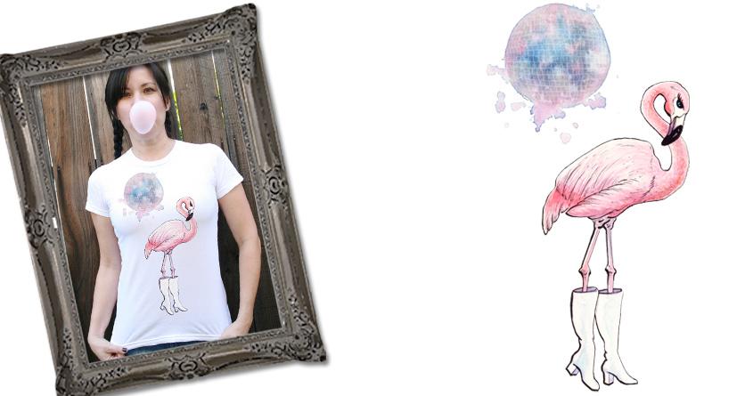 Flamingo-go by Luke... on Threadless